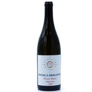 Pivnica BRHLOVCE - Pinot blanc 2018