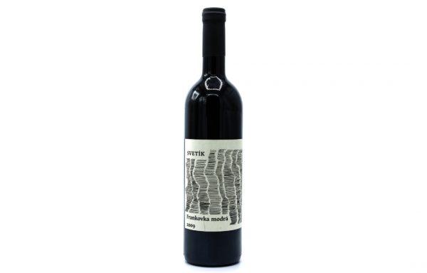 Víno SVETIK Frankovka modrá 2009