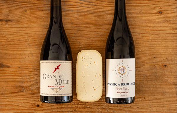 2 Vína spod floru a gouda